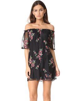 Lacole Off Shoulder Dress