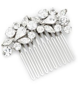 Crystal Cluster Hair Comb