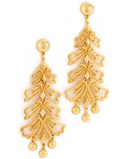 Leaf Long Earrings