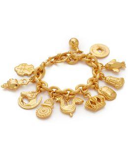 11 Pendant Chain Bracelet