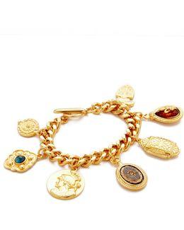 7 Pendant Chain Bracelet