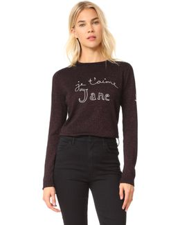 Je T'aime Jane Sparkle Sweater