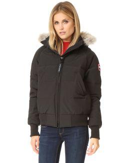 Savona Fur-Trimmed Down-Padded Bomber jacket