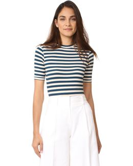 Sandra Striped Bodysuit