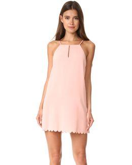 Elena Scallop Dress