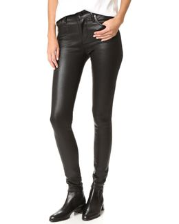 Rocket Leatherette Jeans