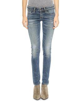Racer Skinny Jeans
