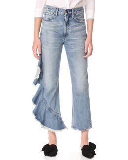 Estella Side Ruffle Jeans