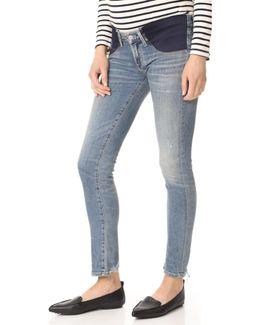 Maternity Racer Jeans