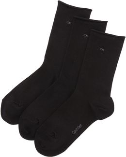 Roll Top Sock Three Pack