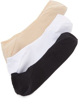 No Show Socks Three Pack