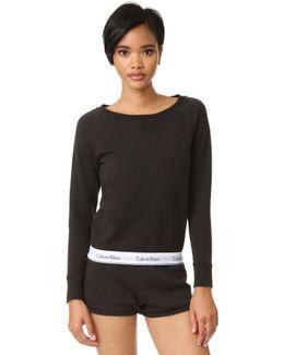 Modern Cotton Long Sleeve Sweatshirt