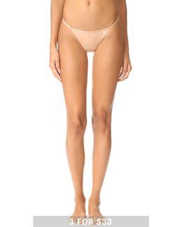 Sleek Model Thong