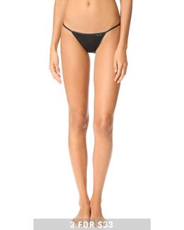 Sleek String Bikini Panties