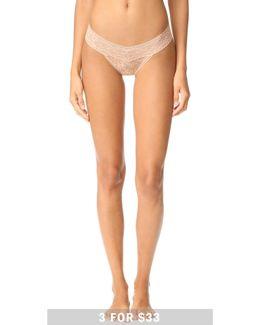 Bare Lace Thong
