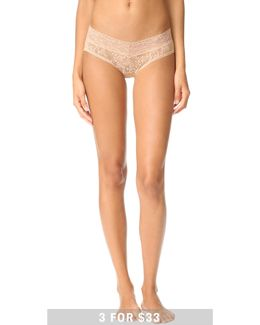 Bare Lace Hipster Panties
