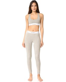 Modern Cotton Bralette & Leggings Set