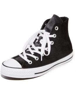 Chuck Taylor All Star Velvet High Top Sneakers