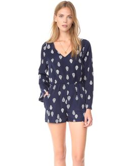 Harley Pieces Of Paisley Romper
