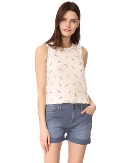 The Feather Muscle Tee
