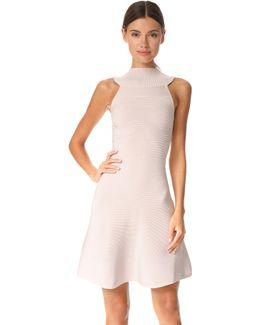 Sleeveless Dress With Collar