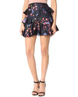 Multi Ruffle Skirt