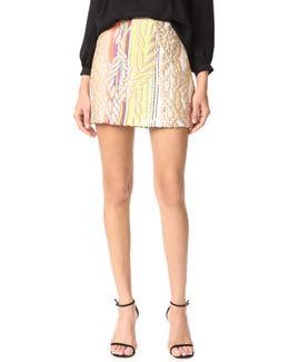 Rainbow Metallic Skirt