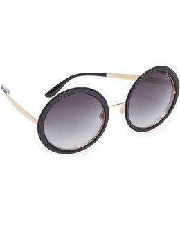 Grosgrain Round Sunglasses