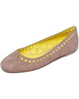 Corolla Ballet Flats