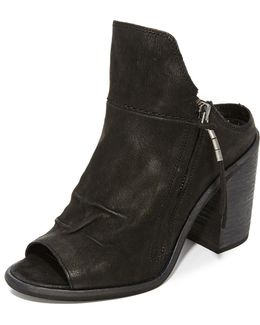 Lennox Open Toe Booties