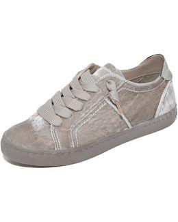 Zalen Velvet Sneakers