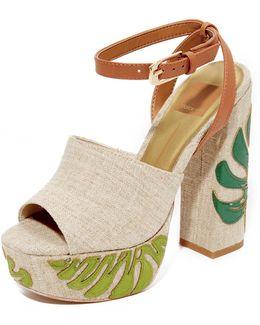 Lando Platform Sandals