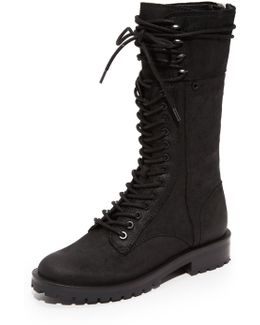 Ward High Combat Boots