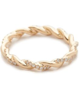 Carly Brooke Twisted Ring