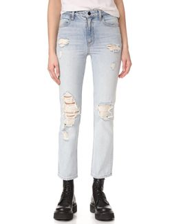 Cult Cropped Straight Jeans