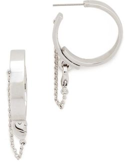 Thin Safety Chain Hoops