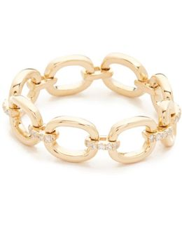 Partial Diamond Chain Link Ring