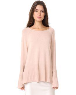 Clarette Wide Sleeve Sweater