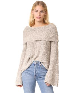 Sophie Slouchy Neck Pullover
