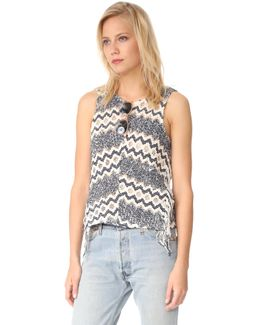 Alexandria Fringe Knit Top