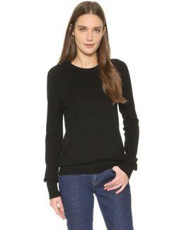 Sloane Cashmere Crew Neck Sweater