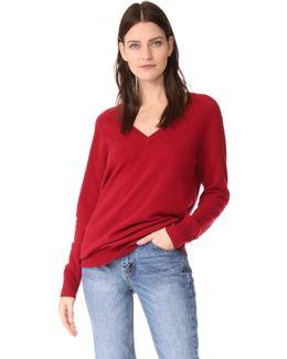 Asher V Neck Sweater