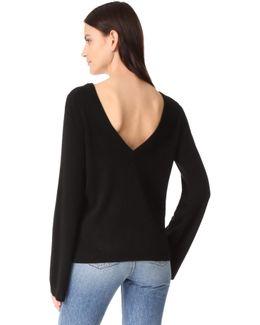 Baxley V Back Sweater