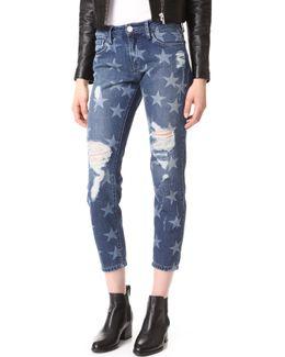 Destroyed Stars Jeans