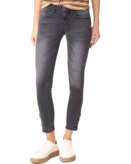 Stella Hw Ankle Skinny Jeans