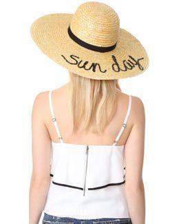 Bunny Sun Day Hat