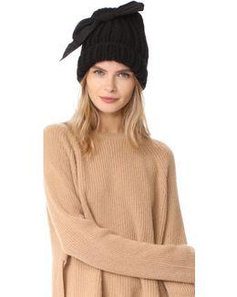 Lina Bow Beanie Hat
