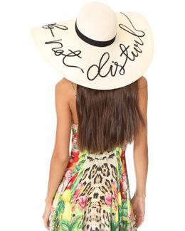 Sunny Do Not Disturb Sun Hat
