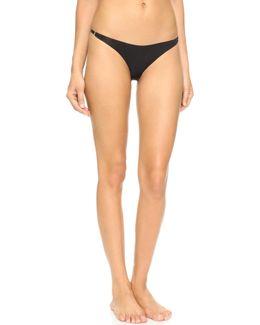 Seamless Lace Back Bikini Briefs