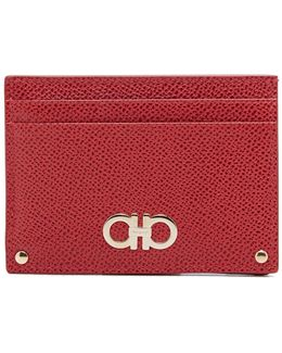 Gancini Card Case